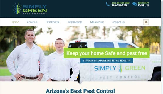 digital marketing for pest control